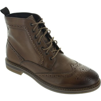 Chaussures Homme Boots Base London Hurst marron