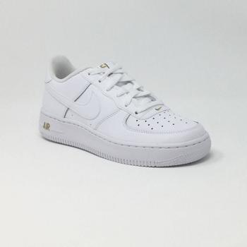 Chaussures Homme Baskets mode Nike AIR FORCE 1 GS BLANC blanc