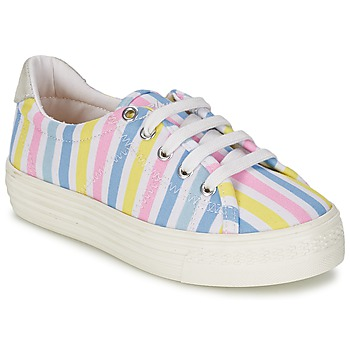 Chaussures Fille Baskets basses Shwik STEP LO CUT Multicolor