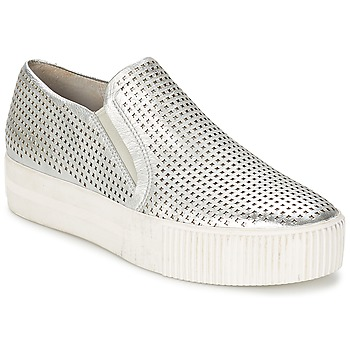 Chaussures Femme Slips on Ash KURT Argent