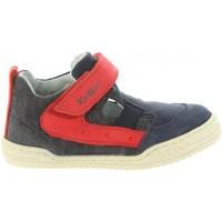 Chaussures Garçon Baskets montantes Kickers 545221-10 JASON Azul
