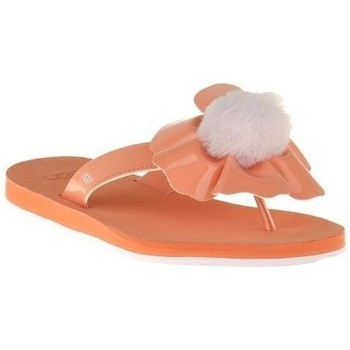 Chaussures Femme Tongs UGG Poppy Fusion Orange