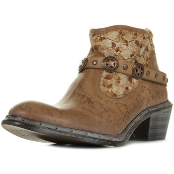 Chaussures Femme Boots Bunker Nely Jungle Camel marron
