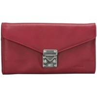 Sacs Femme Pochettes / Sacoches Frederic T Sac Cuir Tulipe Rouge