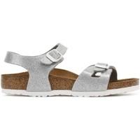 Chaussures Femme Sandales et Nu-pieds Birkenstock 831783 RIO MEGIC DON Sandales Femme Argent Argent