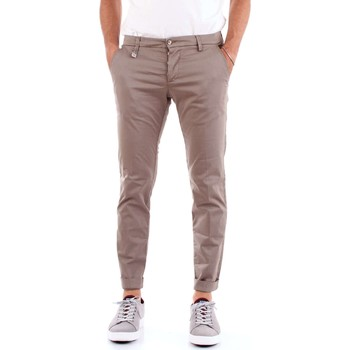 Vêtements Homme Chinos / Carrots Desi.ca DS04POSITANO PANTALON Homme Marron