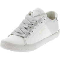 Chaussures Fille Baskets basses Guess Lara white girl Blanc