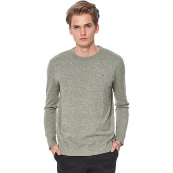 Vêtements Homme Pulls Tommy Hilfiger THDM BASIC CN SWEATER II Gris-Vert