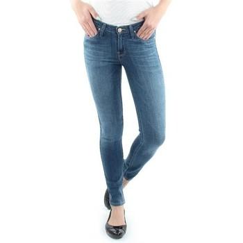 Vêtements Femme Jeans skinny Lee Scarlett Blue L526SVIX niebieski