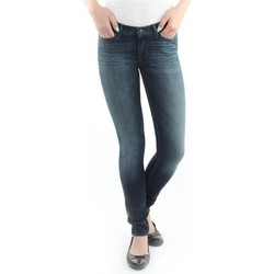 Vêtements Femme Jeans skinny Wrangler Spodnie  Jaclyn 26DU468Y niebieski