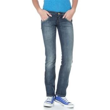 Vêtements Femme Jeans droit Lee Lynn L38418HD niebieski