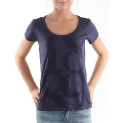 Vêtements Femme T-shirts manches courtes Lee T-Shirt  Scoop Mystic Plum 40KFL87 niebieski
