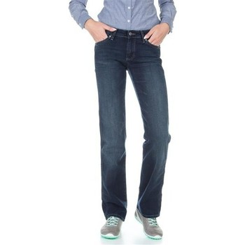 Vêtements Femme Jeans droit Wrangler Sara W212QC818 granatowy