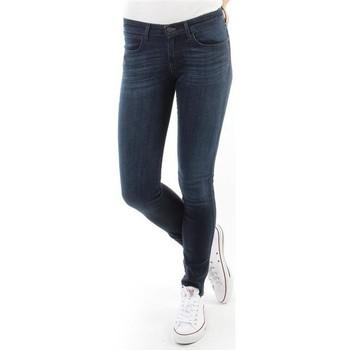 Vêtements Femme Jeans skinny Wrangler Spodnie Damskie CORYNN BLUE SHELTER W25FU466N niebieski