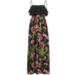 Vêtements Femme Robes longues Morgan RASSIM Noir / Vert
