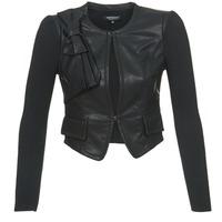 Vêtements Femme Vestes en cuir / synthétiques Morgan VUIR Noir