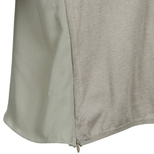 See U Soon Carly Taupe - Livraison Gratuite Avec Vêtements Pulls Femme 5199