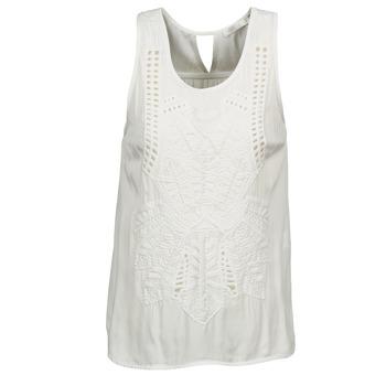 Vêtements Femme Débardeurs / T-shirts sans manche See U Soon CHELSEA Blanc / Gris