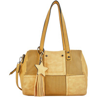 Sacs Femme Cabas / Sacs shopping Miniprix Sac shopping Fauve FAUVE 069-00MD1071 YELLOW