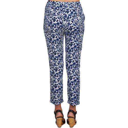 Pantalons Noir U Soon Femme Bleu FluidesSarouels Clara See fIvm7yYb6g