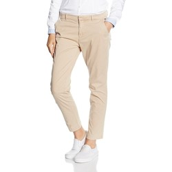Vêtements Femme Chinos / Carrots Tommy Hilfiger SLIM CHINO 7/8 Beige
