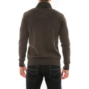 Pull Pulls Vêtements Homme Leonard Chale Col Ritchie Marron lcTJFK13