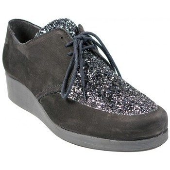 Chaussures Femme Derbies Hirica Derbies Brooke Galactic Noir