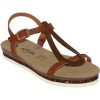 Chaussures Femme Sandales et Nu-pieds Amoa Loches Marron