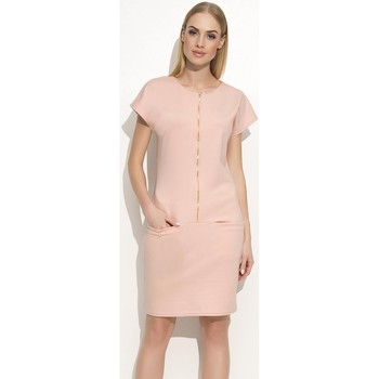 Vêtements Femme Robes Makadamia Robe de jour model 77675 rosé