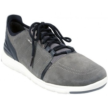 Chaussures Homme Baskets basses Geox Basket U Xunday 2 Fit A Gris