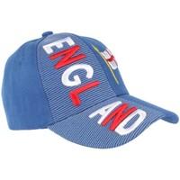 Accessoires textile Casquettes Pays Casquette Angleterre bleu rouge et blanche drapeau Anglais Bleu