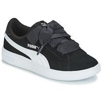 Chaussures Enfant Baskets basses Puma SMASH V2 RIB PS NOIR