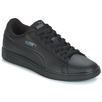 Chaussures Homme Baskets basses Puma PUMA SMASH V2 L NOIR