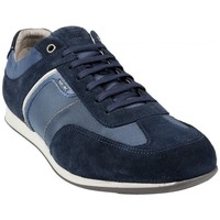 Chaussures Homme Baskets basses Geox Basket U Clemet B Navy Multicolor
