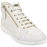 Chaussures Femme Baskets montantes Geox Basket D Myria A Off White Beige