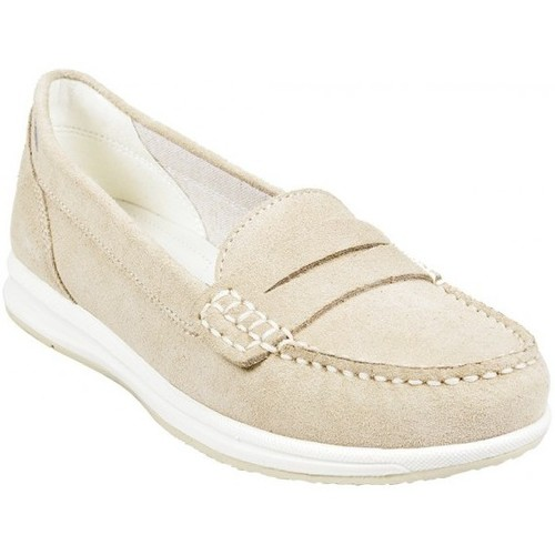 Chaussures Femme Mocassins Geox Mocassin D Avery C Taupe Beige