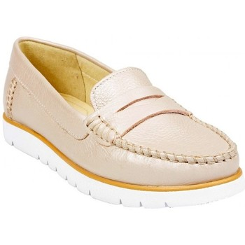 Chaussures Femme Mocassins Geox Mocassin D Kookean F Taupe Beige