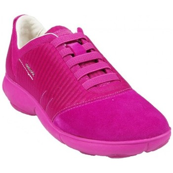 Chaussures Femme Baskets basses Geox Basket D Nebula G Cyclamen Rose