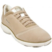 Chaussures Femme Baskets basses Geox Basket D Nebula C Taupe Beige