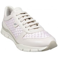 Chaussures Femme Baskets basses Geox Basket D Sukie A Blanc Blanc