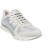 Chaussures Femme Baskets basses Geox Basket D Sukie A Ivory Beige