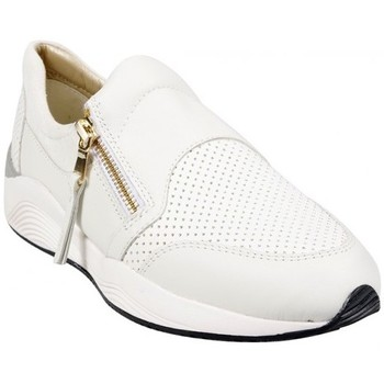 Chaussures Femme Baskets basses Geox Basket D Omaya A Blanc Blanc