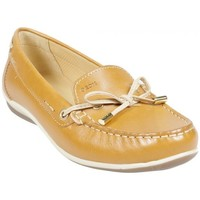 Chaussures Femme Mocassins Geox Mocassin D Yuki A Biscuit Marron