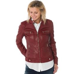 Vêtements Femme Vestes en cuir / synthétiques Rose Garden SILENE SHEEP AOSTA RED CHILI PEPPER Rouge