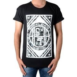 Vêtements Homme T-shirts manches courtes Celebry Tees Tee Shirt  Broklyn Noir