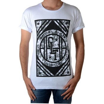 Vêtements Homme T-shirts manches courtes Celebry Tees Broklyn Blanc