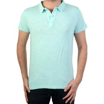 Vêtements Homme Polos manches courtes Deeluxe Polo  slow po Bleu