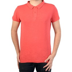 Vêtements Homme Polos manches courtes Deeluxe Polo  slow po Rouge