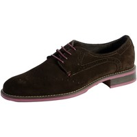 Chaussures Femme Derbies Edwin Wallace Mocassin Brighton Marron