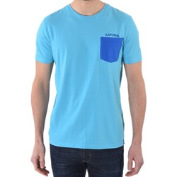 Vêtements Homme T-shirts manches courtes Kaporal Tee shirt Haygo Bleu Atoll